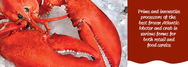 #Lobster, #crab and other #seafood from #PEI, #Canada. Royal Star Foods: http://royalstarfoods.com/retail/