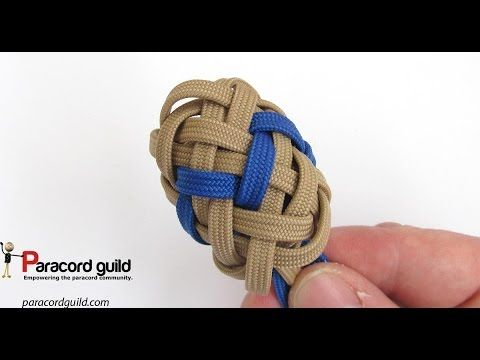 Horn knot- type 1, 3 pass Paracord guild