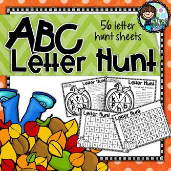 Learning the letters of the alphabet often takes time and lots of practice but when we can make it seem fun as well it helps keep our students engaged in the activity and while they think they are having fun they are actually learning. This pack of ABC letter