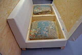 Como hacer un sillon o sofa cama con baul paso a paso - Como hacer un sofa cama ...