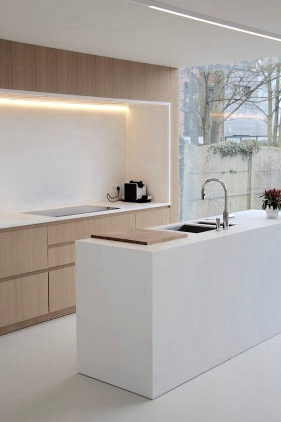 Look/feel of kitchen (add concrete bench tops)