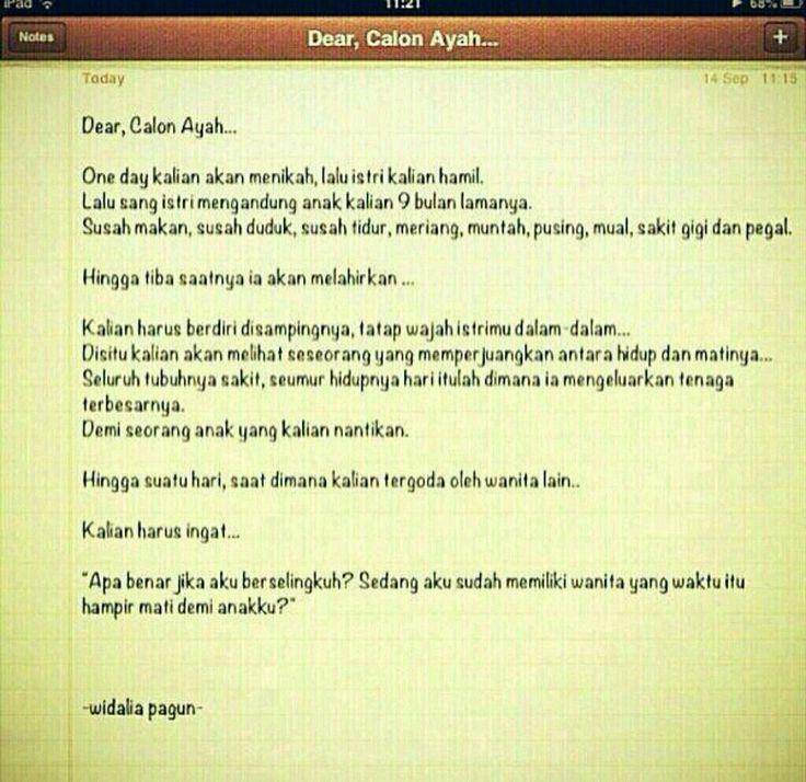 Dear Calon Ayah Ayah