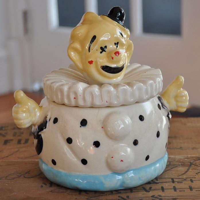 Sm Clown Cookie Jar Vintage Cookie Jars 4 Sale Pinterest