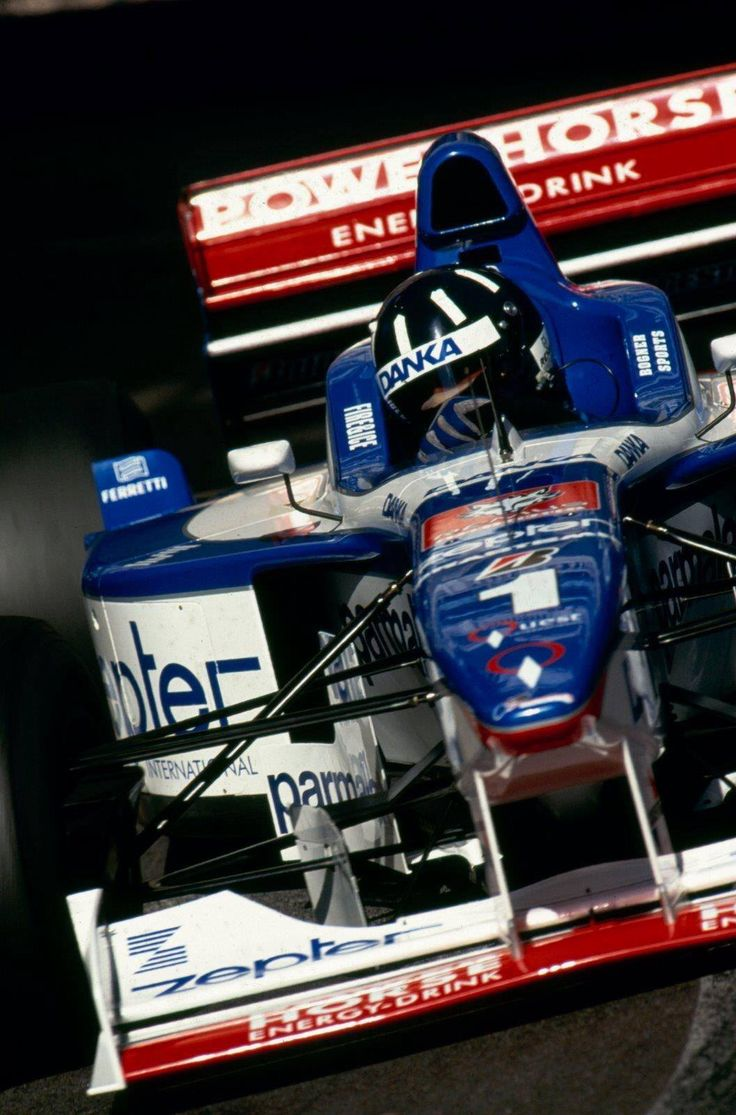 Once upon a time, Arrows spent all their money to get Damon Hill to drive for them... that didn't go very well.