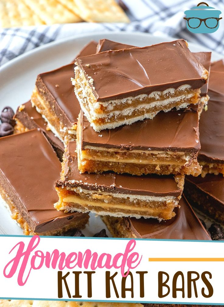 Homemade kit kat bars video the country cook recipe