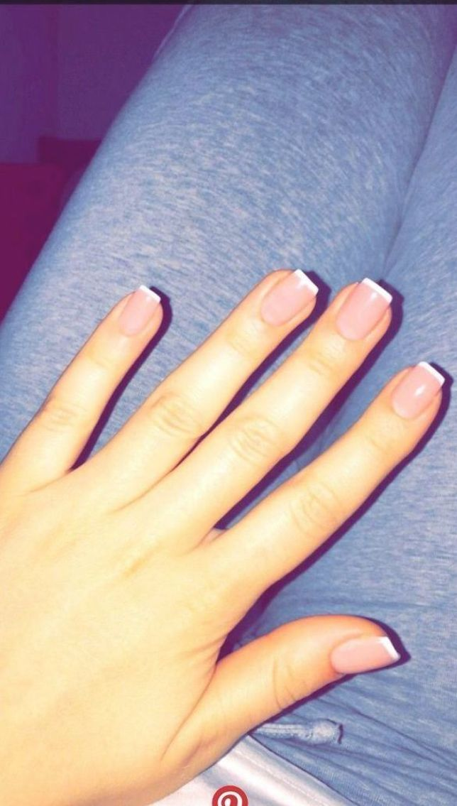 Gel Nails The Difference Between Three Phase And Single Phase Gel In 2020 French Tip Acrylic Nails Short Acrylic Nails Overlay Nails