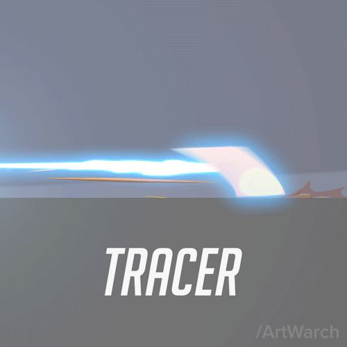 Some abstract animations from Overwatch game.