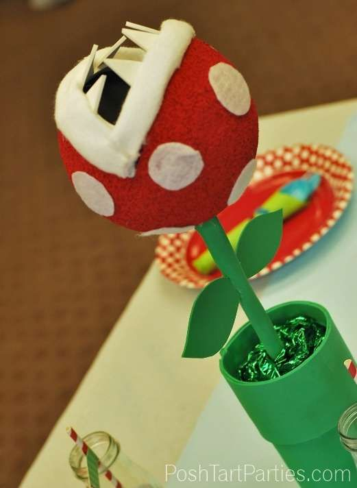 Super Mario Brothers Birthday Party Ideas | Photo 5 of 26 | Catch My Party