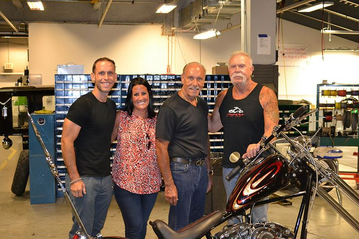 American Jewelry and Loan - Hardcore Pawn visit OCC! We had a great afternoon meeting and showing the crew from American Jewelry and Loan - Hardcore Pawn around the complex. Then a great meal in the OCC Cafe. Thanks for stopping by! #Hardcorepawn #orangecountychoppers #bigtime