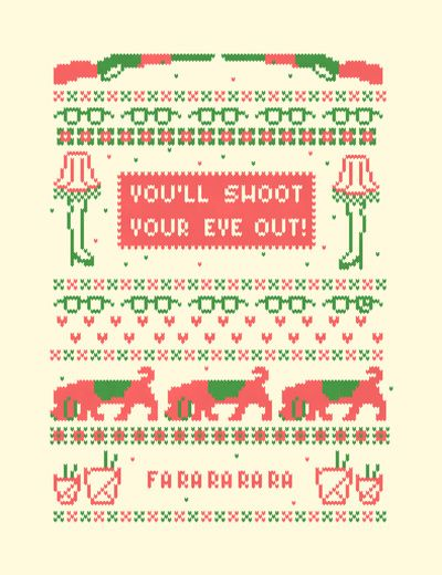 Christmas Story needlepoint.Holiday, Christmas Movies, A Christmas Story, Cute Ideas, Art Prints, Christmas Sweaters, Crosses Stitches, Cross Stitches, A Christmas Stories