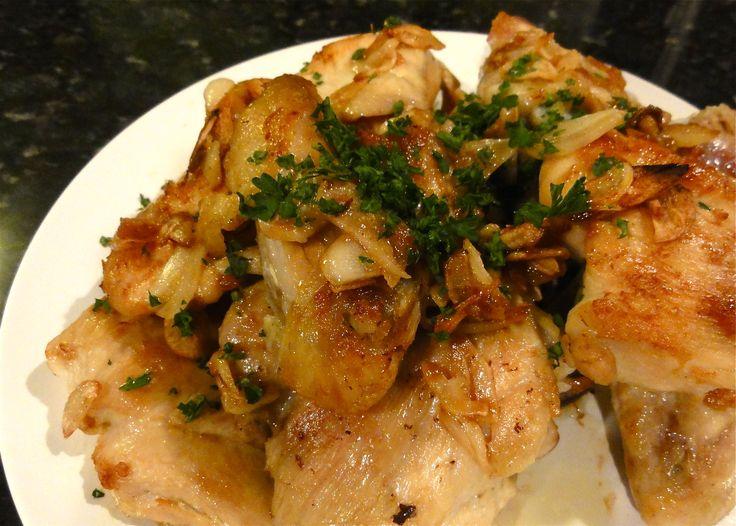 Pollo al ajillo (kip in knoflooksaus)