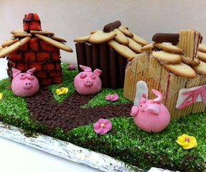 Il était une fois, Trois Petits Cochons... Le premier fit sa maison en paille, le second en bois et le troisième en briques... Cette histoire est bien connue... Mais sur Le-Cuisinier.net, point de Loup pour souffler sur les maison...