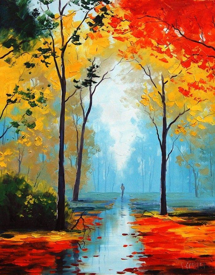 картинки осенние пейзажи