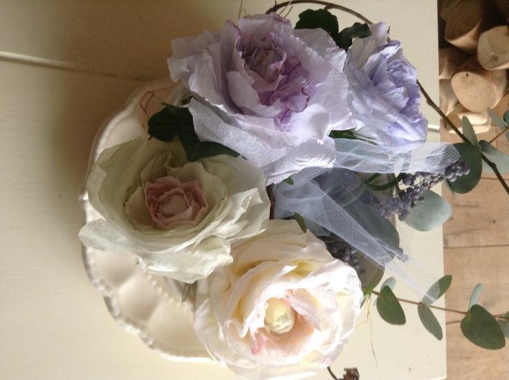 Mooie blauw,paarse rozen