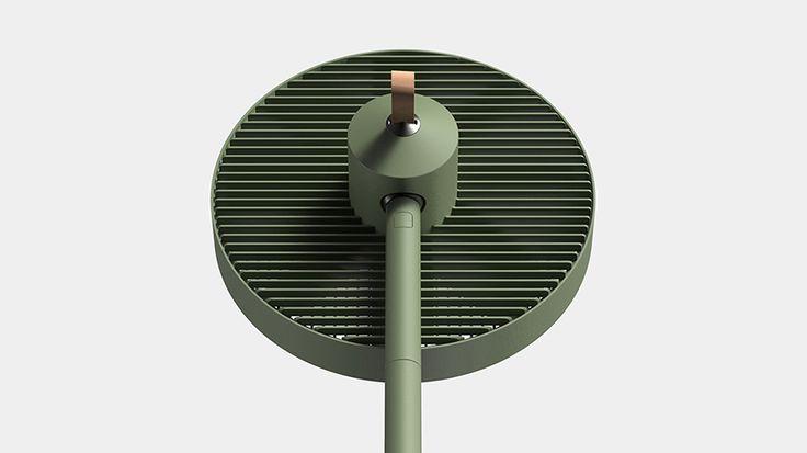 collapsible conbox fan developed by jiyoun kim studio