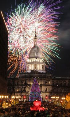 Silver Bells in the City - Downtown Lansing, MI. The entire city will glow with millions of lights for the 29th Annual Silver Bells in the City, bringing together family and friends from all over Michigan to celebrate the holiday season.