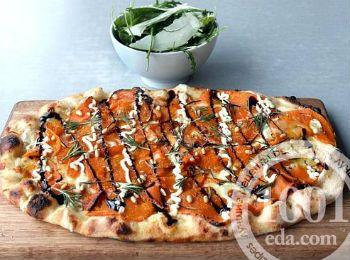 Пицца с тыквой