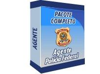 Pacote completo para ser aprovado em concurso para agente da Polícia Federal