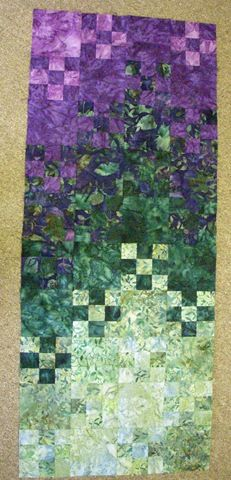 [Chris - Blooming Nine Patch[2].jpg]. Very nice small quilt!