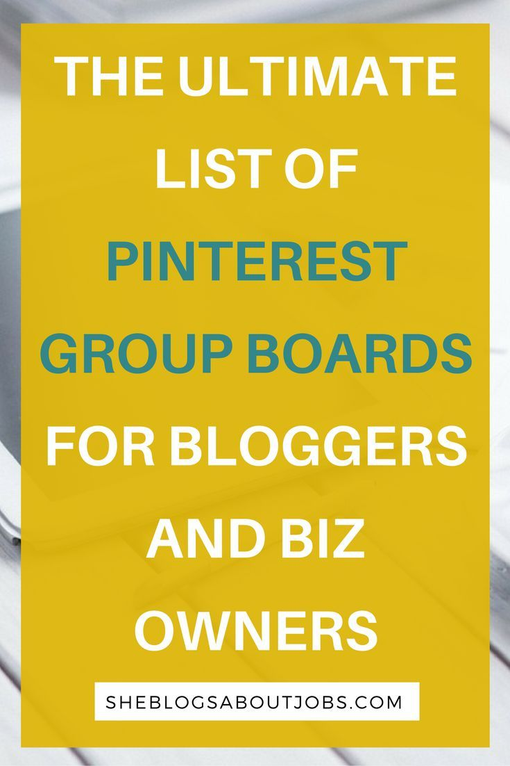 Find a massive collection of pinterest group boards in this post. I have created a freebie with 135 pinterret group boards in 8 different niches. You should check it out if you are looking for pinterest grop boards to join to boost your blog/online biz traffic!