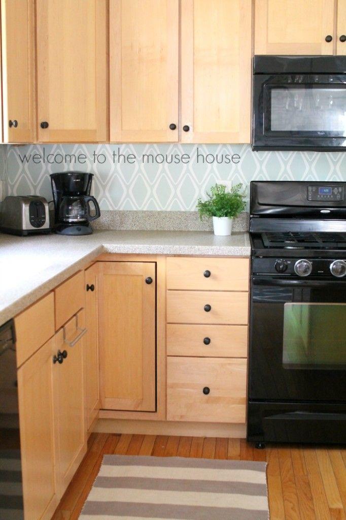 Best  Target Wallpaper Ideas On Pinterest White Brick - Kitchen backsplash wallpaper ideas