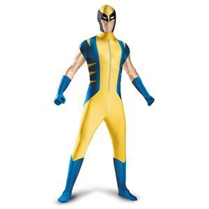 Wolverine Adult Mens Bodysuit Costume #cosplay