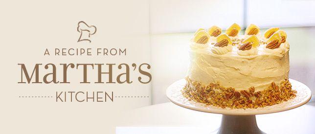 Martha's Recipe: Hummingbird Cake
