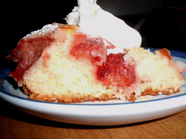 Strawberry Buttermilk Cake | The Strawberry Patch | Pinterest