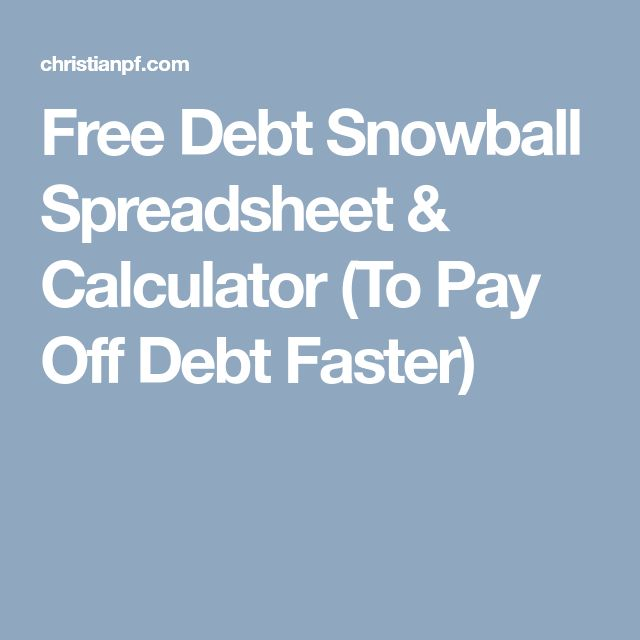 25+ unique Debt snowball spreadsheet ideas on Pinterest Coupon - debt payoff calculator
