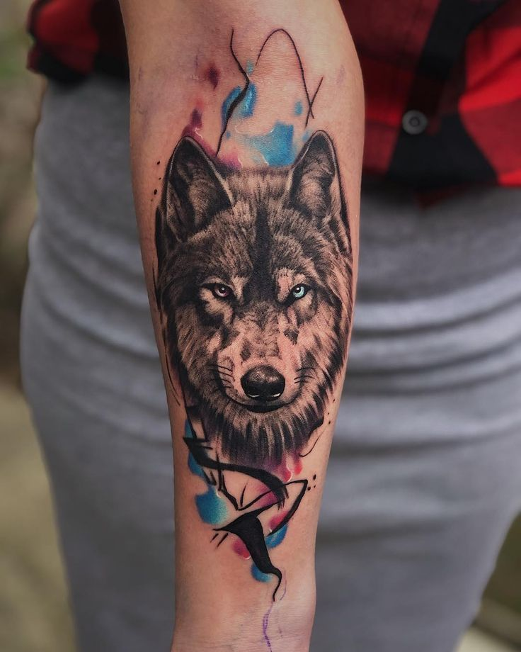 The lone wolf dies, but these tattoos survive. in 2020 | Wolf tattoo design, Wolf tattoo, Tattoo designs