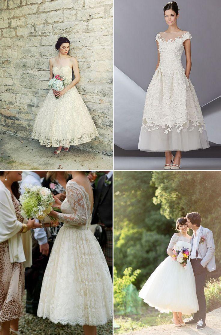 Vestidos de Noiva Midi | Mariée: Inspiração para Noivas e Casamentos