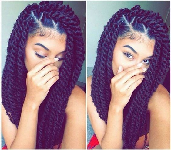 braid hair styles 1000 ideas about twists on marley 2044