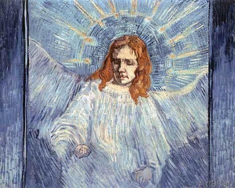 Vincent van Gogh,  The Angel on ArtStack #vincent-van-gogh #art