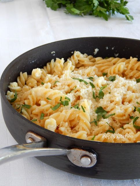 Pasta with Milk and Greek Kefalotyri Cheesehttp://pepiskitcheninenglish.blogspot.gr/2015/07/pasta-with-milk-and-kefalotyri-greek-recipe.html