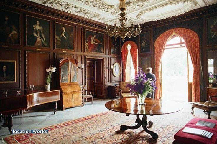 Burghley House Interior Lincolnshire England UK