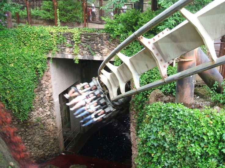 Let's get back into this - Nemesis at Alton Towers  - http://earth66.com/rides/lets-nemesis-alton-towers/