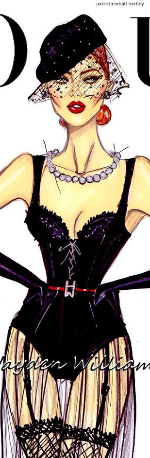 Vogue Illustration by Hayden Williams | House of Beccaria~