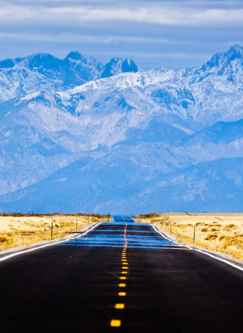 What a view!... #RoadTripsFamilies Roads Trips, The Roads, Blue Sky, Art, Colorado, Open Roads, Into The Blue, Blue Mountain, Alexis Birkil