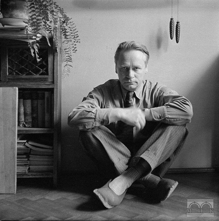 Autoportret Henryka Hermanowicza, lata 60. XX w. Via: Fotografia Krakowska