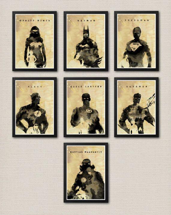 Justice League Ligue des justiviers #DC Comics Heroes