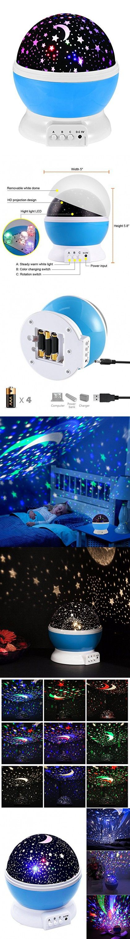 How to make a starry night ceiling in the bedroom