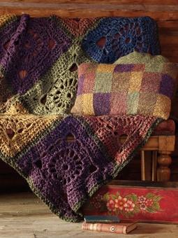 Beautiful autumn colors  #crochet #color