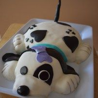 Puppy themed cake
