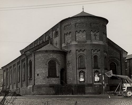 St. Jude's Church Shieldfield Unknown 1966 by Newcastle Libraries: Photo