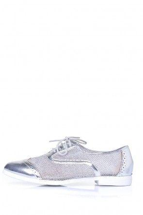 Hela Brogue in Silver