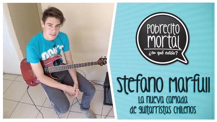 Stefano Marfull un nuevo guitarrista, en Pobrecito Mortal