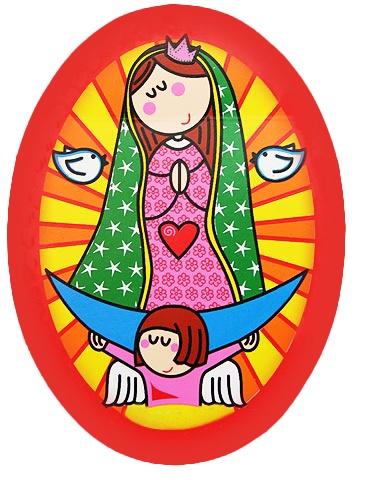 Virgen Guadalupe .-