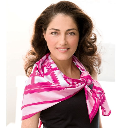Breast Cancer Ribbons Scarf  967-055  Reg. $10.00