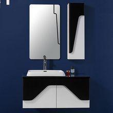 Moderna al por mayor montado en la pared de baño de madera gabinetes de la…
