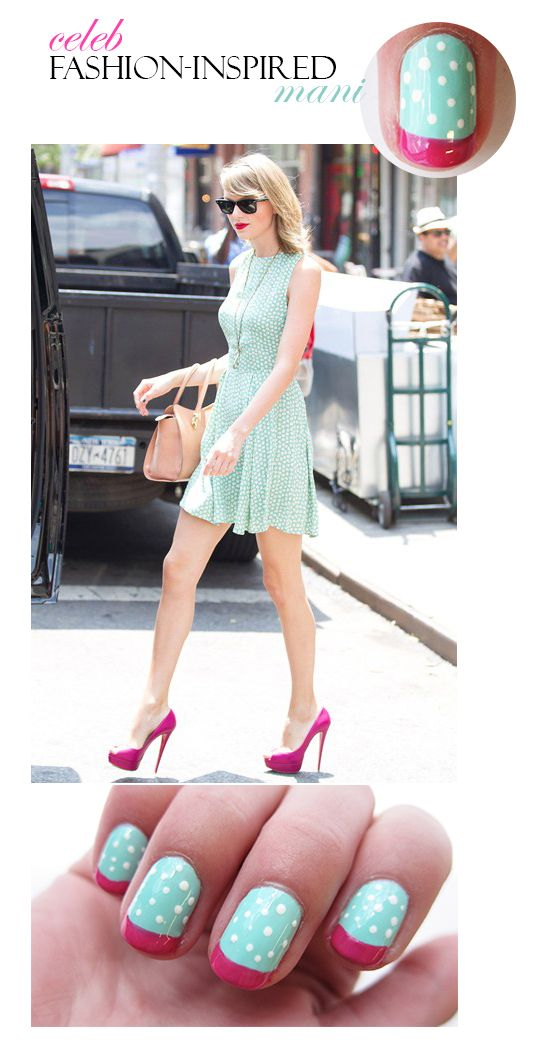 #MakeItAMani: Taylor Swift Edition featuring @littlenailgirl and @cultnails